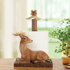 Animal Toilet Paper Holder Cheap Modern Aluminum Wall Mounted Toilet Paper Holder