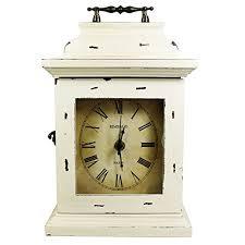 Wood Desk Clock Vintage Wood Desk Clock Mantel Clock Retro Antique Clock Non