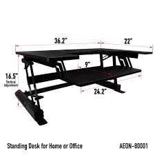 amazon com standing desk for home or office 36