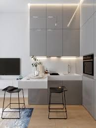 small kitchen grey cabinets small kitchens don t get much smaller than this