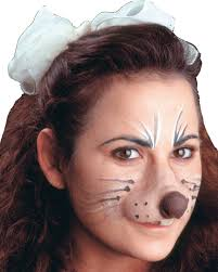 cat fangs halloween mouse face woochie sm costume makeup u0026 special effects