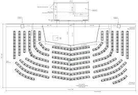floor plan theater theatre stage measurements floor plan home plans blueprints