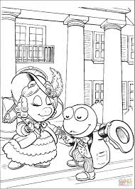 baby miss piggy and kermit coloring page free printable coloring