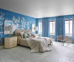 blue bedroom home furniture ideas