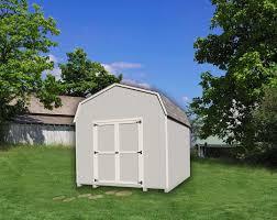 little cottage co value gambrel barn 10 u0027 x 16 u0027 storage shed kit