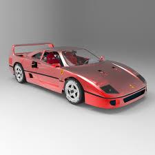 model f40 f40 3d model in sport cars 3dexport