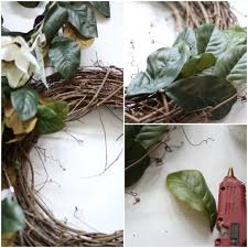wreath diy of home