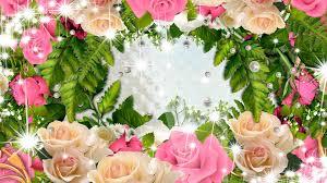Flower Pictures Flower Fleurs Rose Bouquet Swag Sparkle Tons Summer Bright Wreath