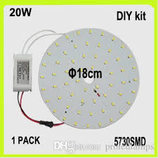 circular fluorescent light led replacement 2018 replace 40w fluorescent tube 110v 120v diy 20w led circular