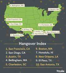 Trulia Map Boston Is On Trulia U0027s List Of Most Hungover Cities For 2017