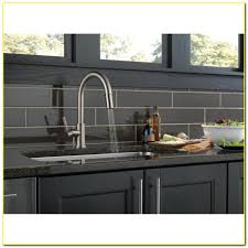 Delta Savile Stainless 1 Handle Pull Down Kitchen Faucet by Shop Top Rated Faucets At Lowescom Delta Savile Stainless 1 Handle