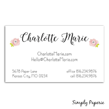Invitation Business Cards Business Cards Collection Simply Paperie