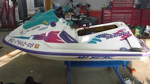 1995 seadoo sp 580 type 587 parting out youtube