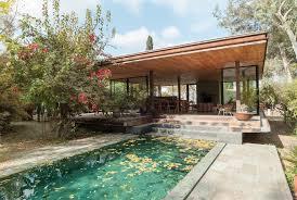 pavilion at architect u0027s residence kythreotis architects archdaily