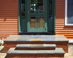 Wooden Front Stairs Design Ideas Exteriors Striking Front Concrete Stairs Design Ideas Presenting