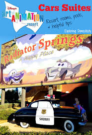 cars sarge and fillmore wdw 2017 day 1 art of animation cars suites and saving on food