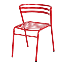 cogo steel outdoor indoor stack chair qty 2 safco products