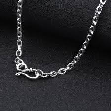 silver necklace women images 925 sterling silver chain men necklace men jewelry 100 pure jpg