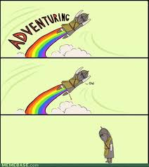Adventure Meme - skyrim knee adventure