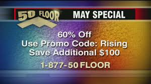 take advantage of 50 floor s may special of 60 wccb