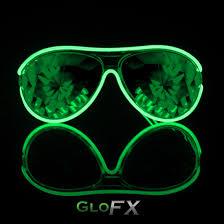luminescence glasses el wire sunglasses light up glofx