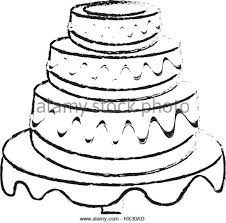 birthday cake vector sketch stock photos u0026 birthday cake vector