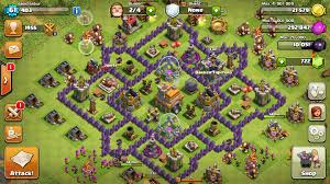 layout coc town hall level 7 clash of clans townhall7 best base clash of clans 2016