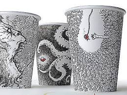 coffee cup designs these intricate disposable coffee cup designs t the popurls