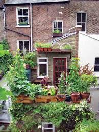 Small Urban Garden - small space gardening organic gardening mother earth news