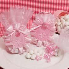 pink favor bags baby shower favor boxes favor bags