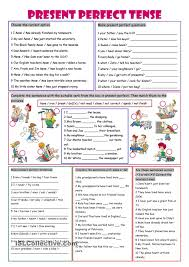 present perfect tense english learning pinterest present