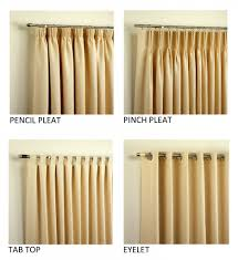 Types Of Curtains Decorating Curtain Types 100 Images Curtain Tops Styles Types Of Curtain