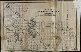 Map Of Orlando And Surrounding Towns by Historic Orlando Orlando Memory