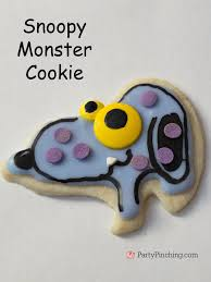 halloween controller halloween snoopy cookies party pinching