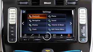 nissan leaf solar panel 2016 nissan leaf control panel and touch screen overview youtube