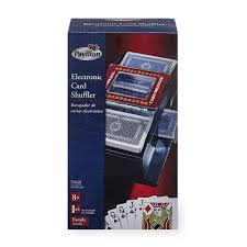 pavilion games battery operated card shuffler toys