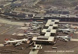flughafen zurich zurich airport zrh in autumn 1997 page 6 flughafen zurich zurich airport zrh in autumn 1997 terminal b postkarte 1975 jpg