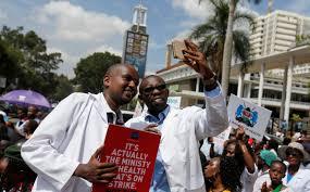 Doctors Kenyan President Warns Doctors U0027will Be Replaced U0027 Over Strike