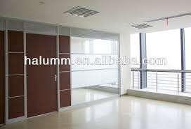 glass partition wall solid mdf partition design walls sound proof