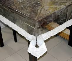 Oval Vinyl Tablecloth 60