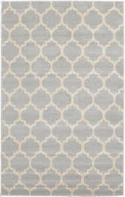 light gray 5 u0027 x 8 u0027 trellis rug area rugs rugs ca baby room