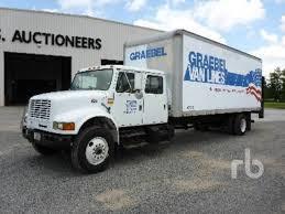 international 4900 van trucks box trucks for sale used trucks