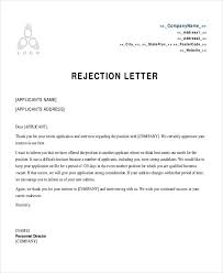 rejection letter hitecauto us