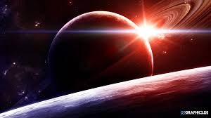sunrise in space wallpapers gtgraphics