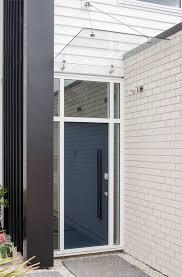 glass door canopies glass canopies