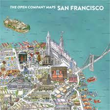 san francisco map it san francisco map the open company borgarmynd