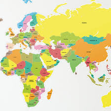 How To Draw A World Map Labelled Map Of The World You Can See A Map Of Many Places On