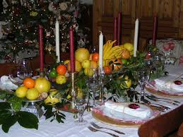 simple design table decorations for holiday party formal christmas