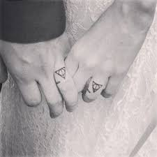 Harry Potter Wedding Rings by Sweet Wedding Ring Tattoos