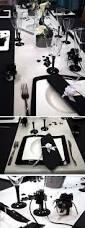 deco table marin table mariage noir et blanc sur plusieurs thèmes